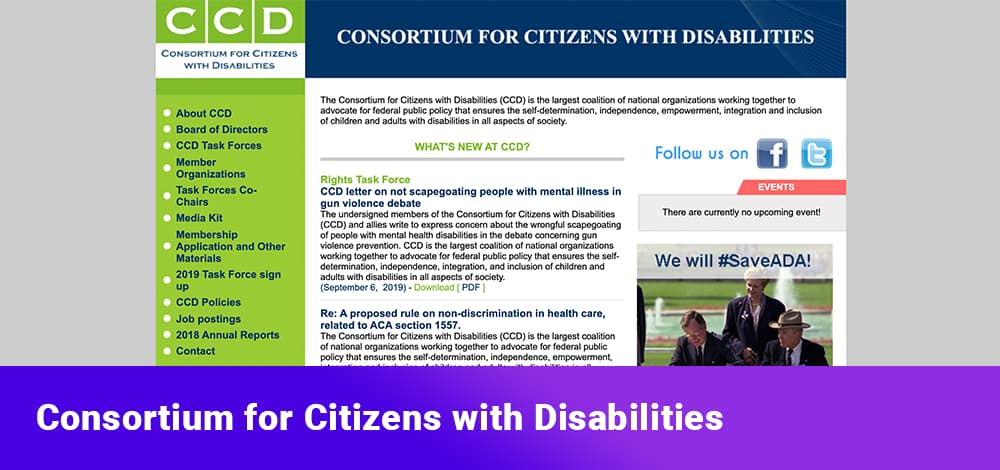 Consortium for Citizens with Disabilities